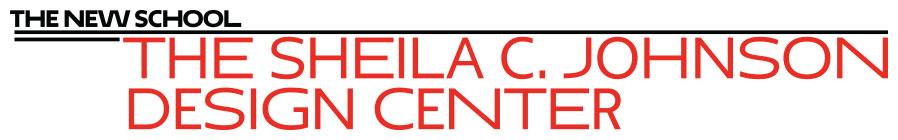 THE SHEILA C. JOHNSON DESIGN CENTER LOGO